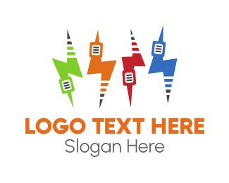 Logo Design - Electric Music