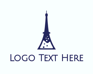 French - French Laboratory logo design