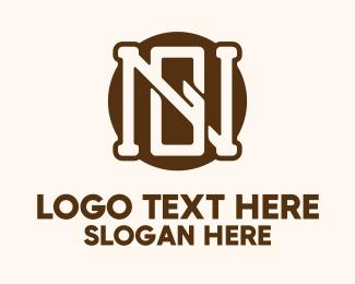 Mens Clothing - N & G Monogram  logo design