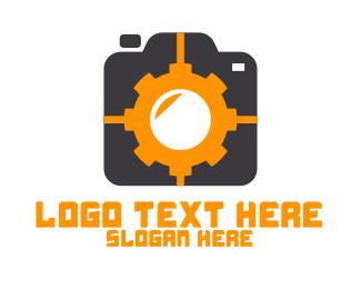 Instagram - Mechanical Gear Photography logo design