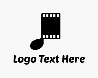 Sound - Musical Films logo design