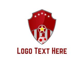 Team - Soccer Shield logo design