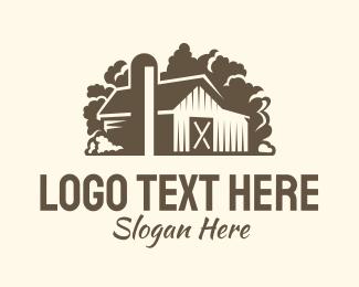 Rustic - Rustic Brown Barn logo design
