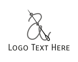 Thread - Thread & Needle logo design