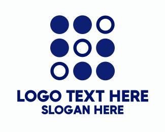 Investment - Simple Modern Dots logo design