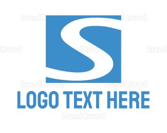 Flow - Blue River logo design