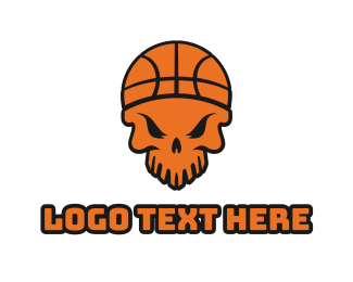 """Skull Basketball "" by LogoBrainstorm"