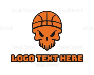 Federation - Skull Basketball  logo design