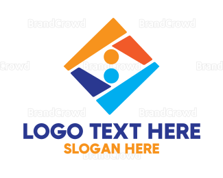 Shape - Colorful Abstract Shape logo design