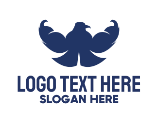 Strong - Strong Eagle logo design