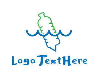 Plastic - Plastic Bottle logo design