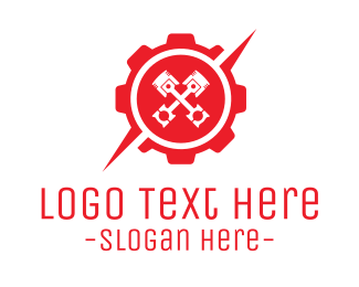 Garage - Industrial Gear logo design