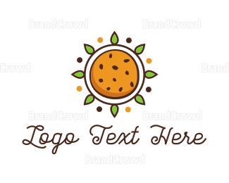Chocolate - Sun Cookie logo design