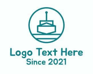 Antenna - Antenna Remote Boat logo design