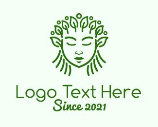 Leaf - Green Organic Cosmetic logo design