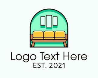 Living Room - Living Room Furniture logo design