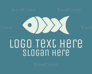 Aquarium - Colorful Fish logo design