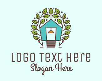 Ecofriendly - Ecosystem Tree House logo design