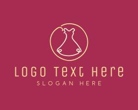 Handmade - Fashion Dress logo design