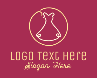 Thread - Fashion Dress logo design