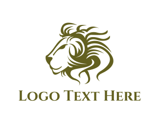 Sri Lanka - Lion Face logo design