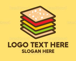 Deli - Layer Burger logo design