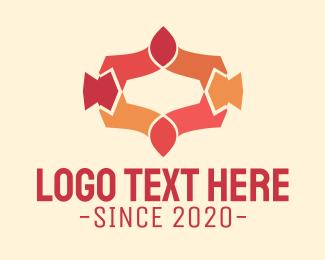 Decorative - Red Decoration logo design