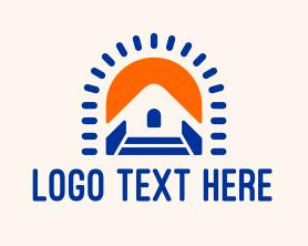 Real Estate - Modern Home Builder logo design