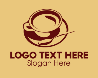 Cup - Cup & Spoon logo design