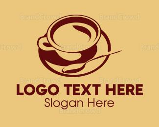 Cup - Cup & Spoon logo design