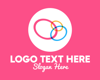 Collective - Colorful Rings logo design