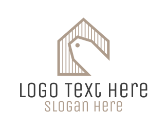 Market - Home Sale Price Tag logo design