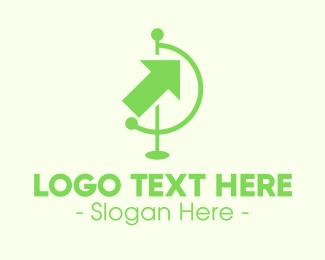 Green Arrow Travel Logo