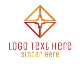 Accessories - Gradient Star Diamond logo design