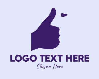 Thumb - Thumbs Up Face logo design