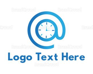 Second - Online Hour logo design