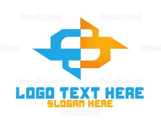 Ice - Ice & Fire logo design