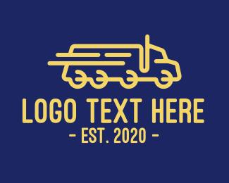 Fast - Fast Truck logo design
