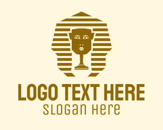 Pharaoh - Egyptian Pharaoh Cleaner logo design