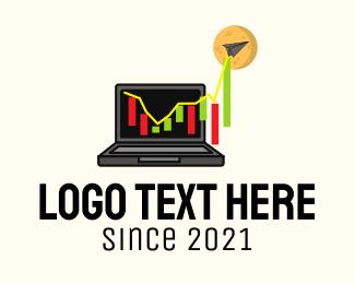 Stock - Digital Stock Market logo design