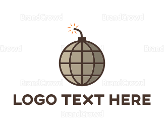 Explode - Boom World logo design