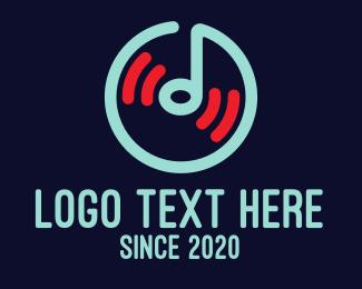 App - Music Player App logo design