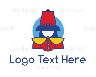 Costume - Renaissance Soldier logo design
