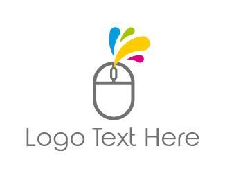 Mouse - Ink & Mouse logo design