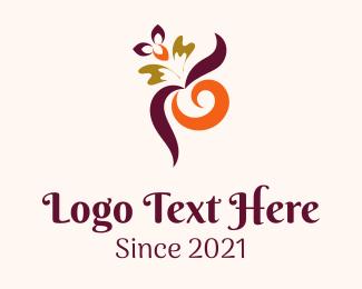 Theraphy - Multicolor Plant Store logo design