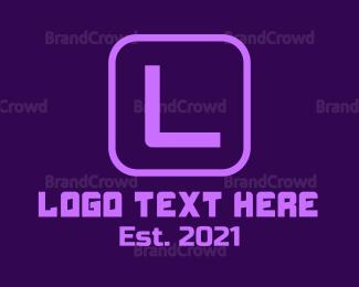 Hacker - Gaming Blue Letter G logo design