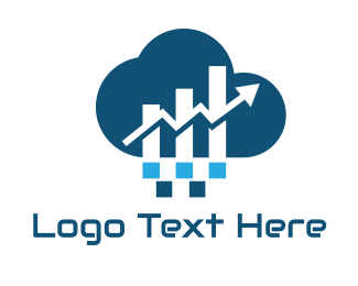 Financial - Financial Cloud logo design