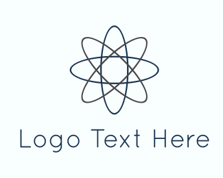 Parent - Atom Lines logo design