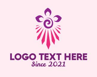 Creative - Floral Creative Decoration  logo design