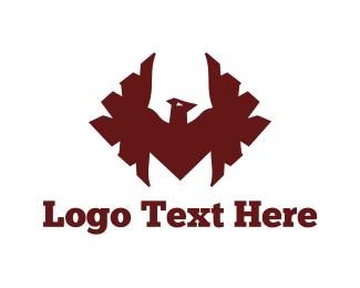 Hawk - Red Hawk logo design